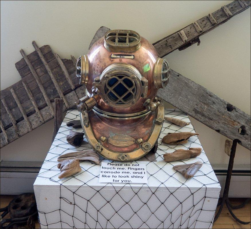 Deep Sea Diver's Helmet