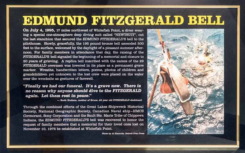 S.S. Edmund Fitzgerald Ship's Bell