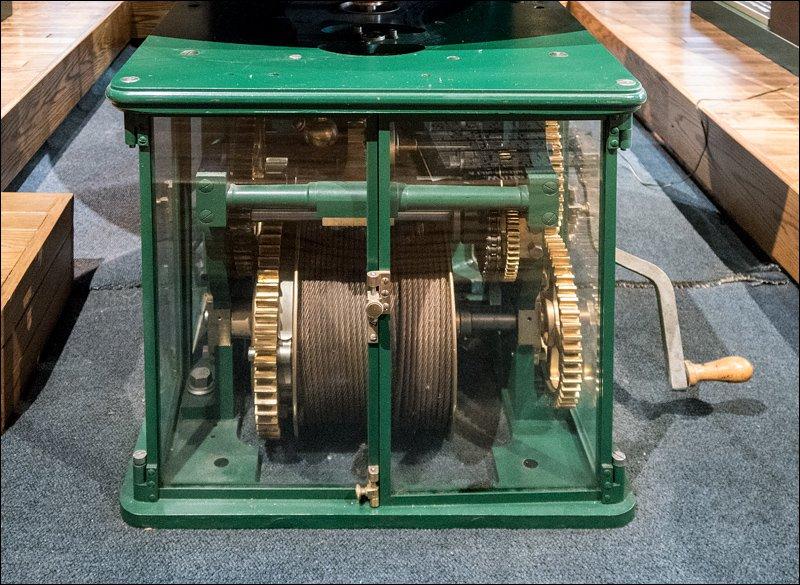 Clockworks Mechanism - White Shoal