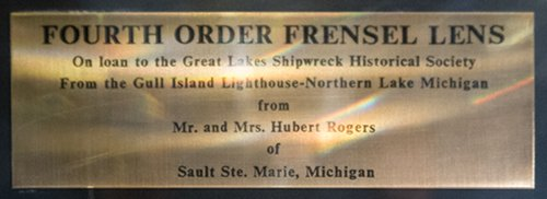 Fourth Order Fresnel Lens - Gull Island