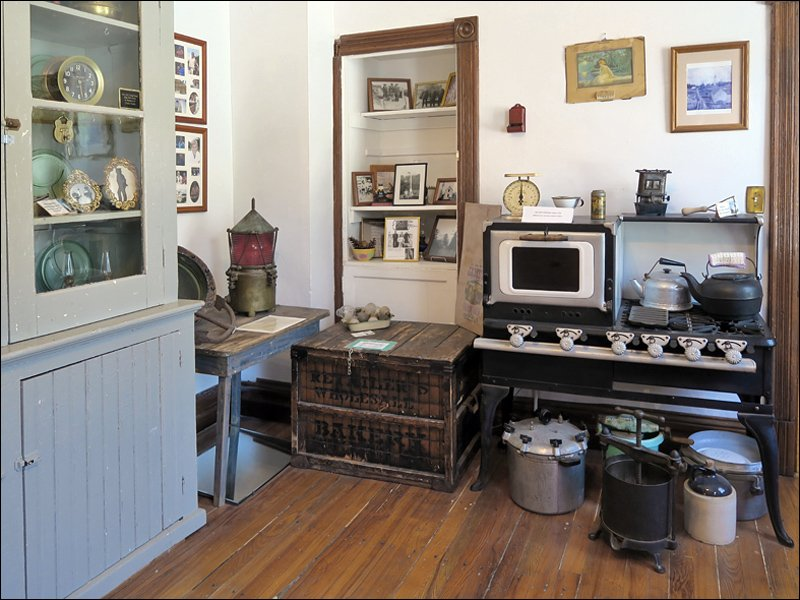 Kitchen with Rare Kerosene Stove