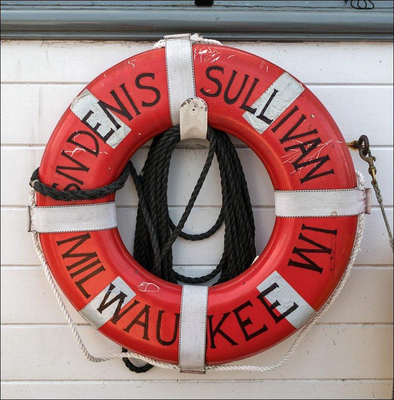 S/V Denis Sullivan Life Ring