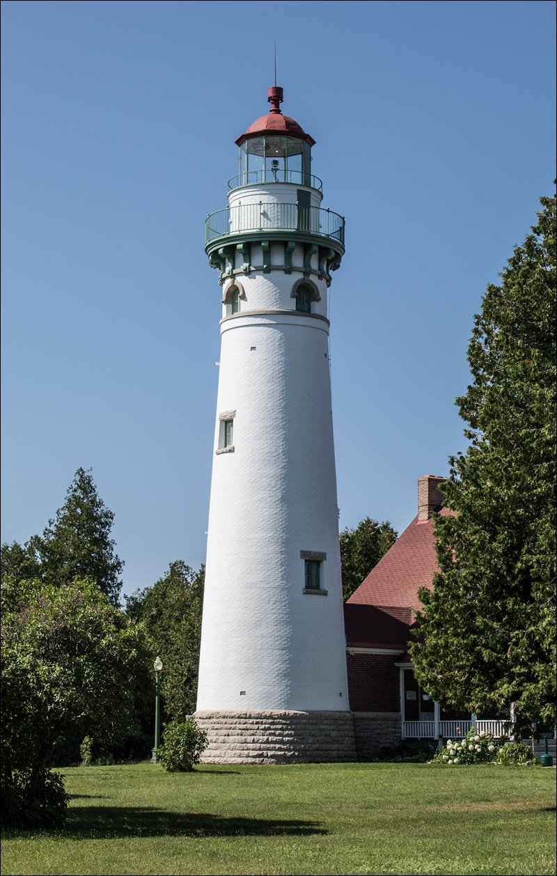 Seul Choix Point Lighthouse - Southeast View