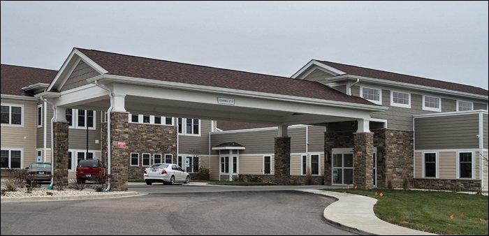 Oak Park Place Burlington Entrance