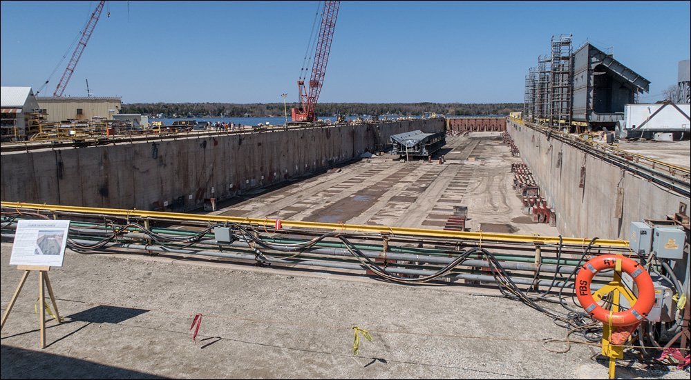 Large Graving Dock, one of only two on the Great Lakes