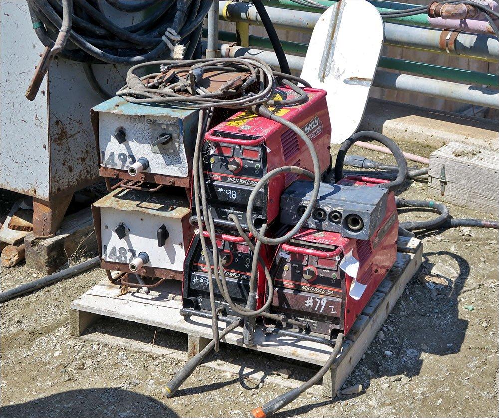 Electric welding equpment