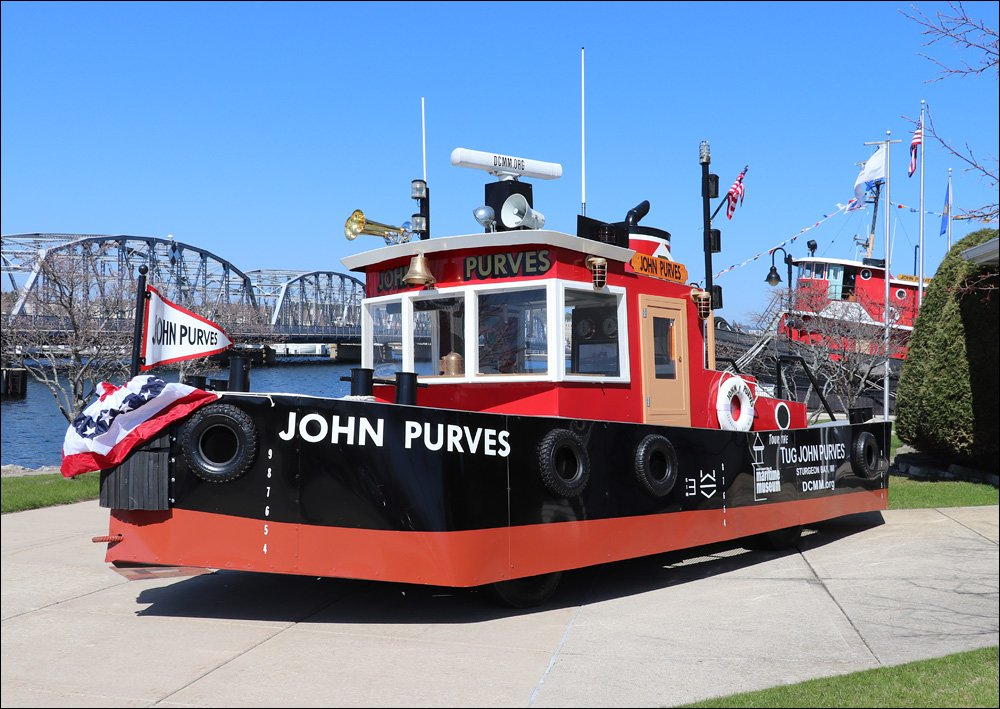 Tug John Purves parade float