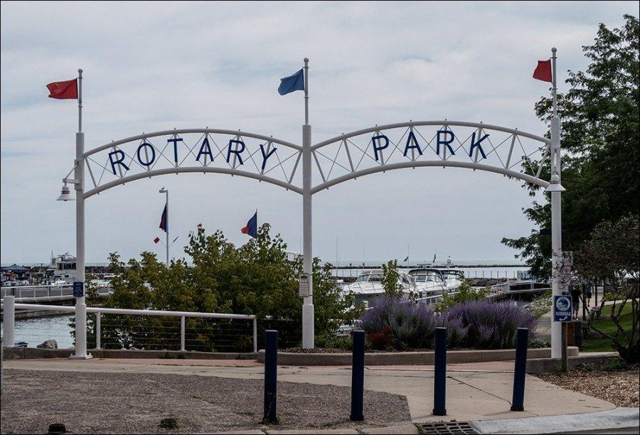Rotary Park Entrance