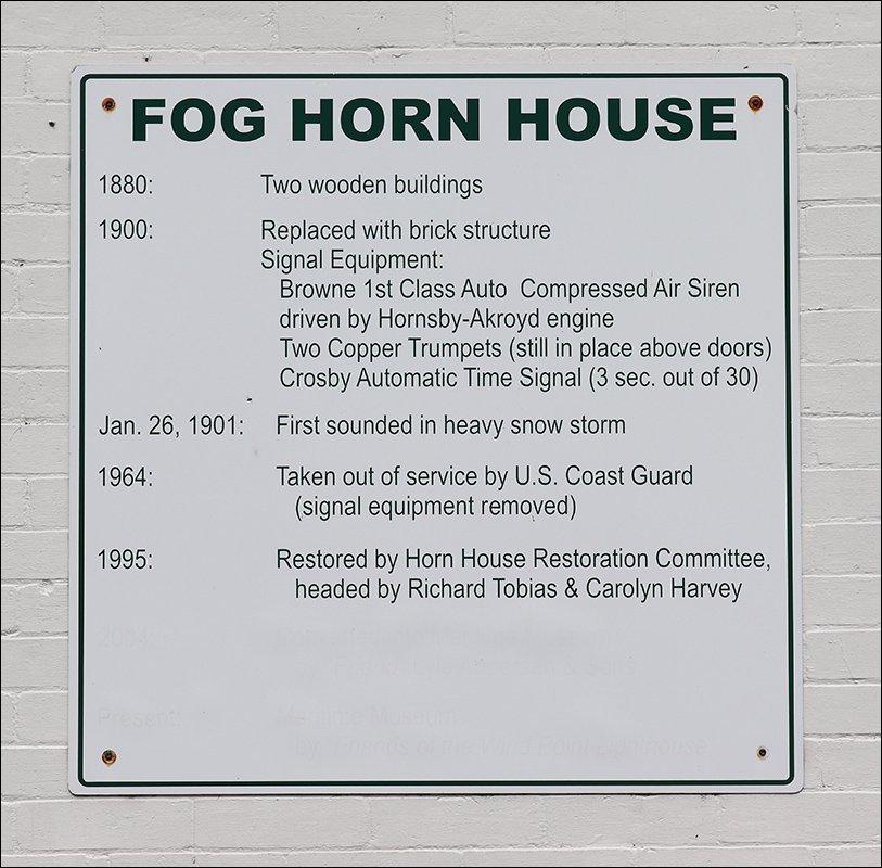 1900 Fog Signal Building (Sign)