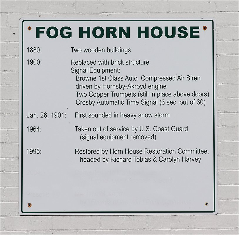 1900 Fog Signal Building (Sign)