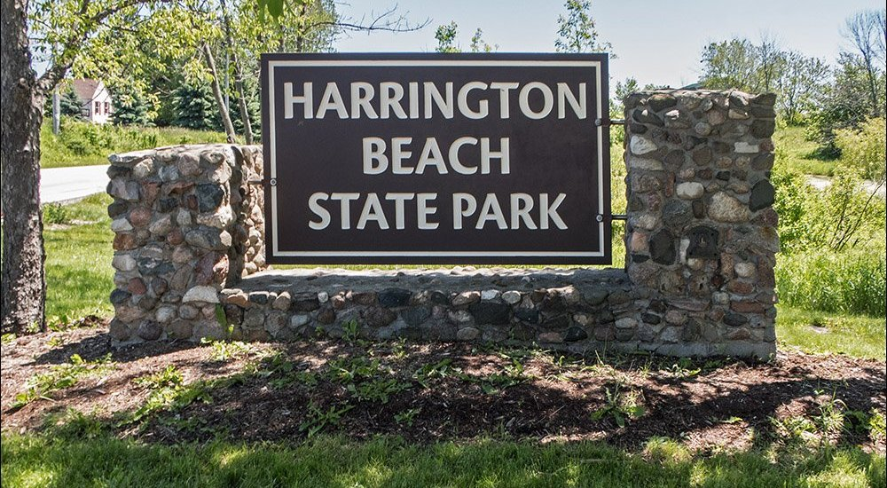 Harrington Beach State Park Entrance