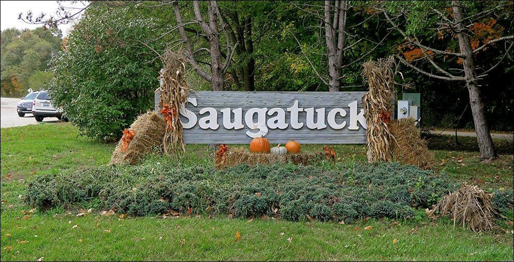 Saugatuck sign