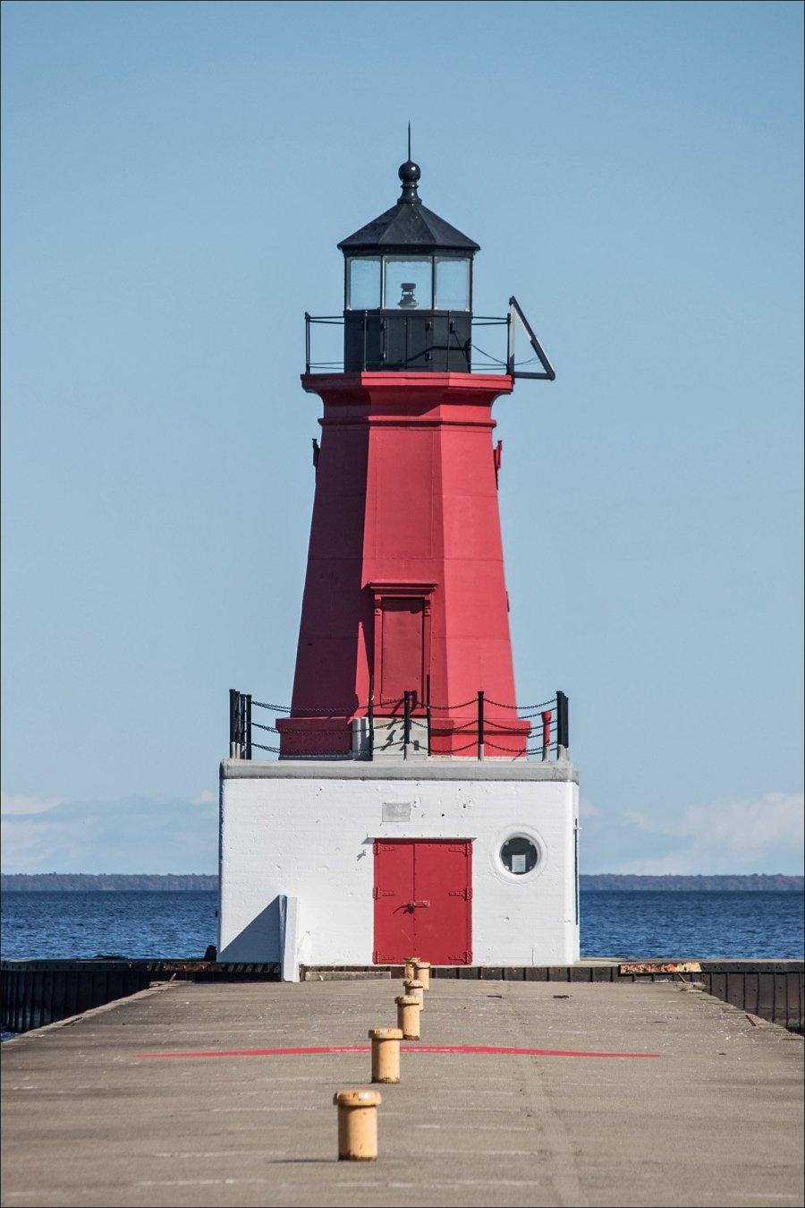 North Breakwater Light - Menominee, MI