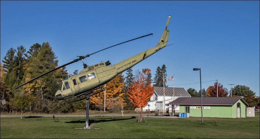 Thomas St. Onge Vietnam Museum - Attack Helicopter