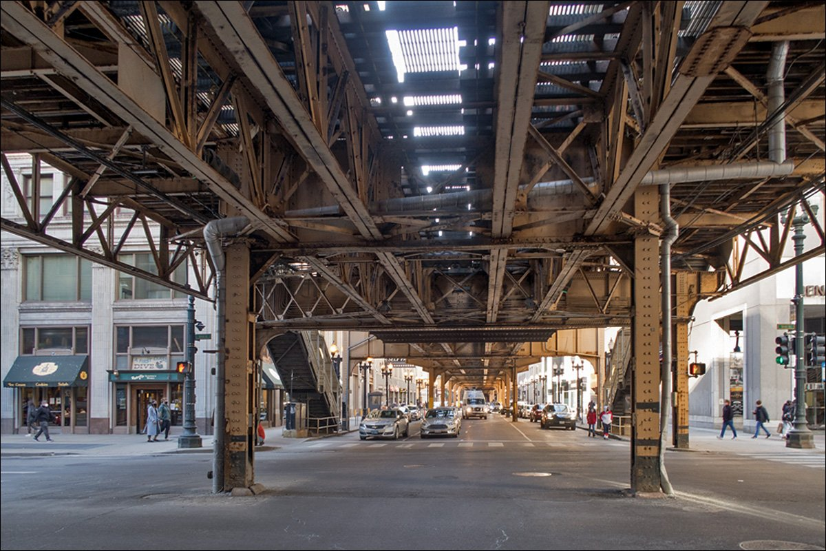 Chicago Elevated Rainroad Structure