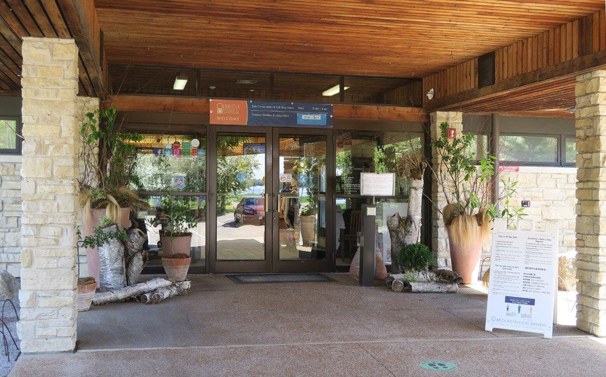 Olbrich Botanical Gardens - Entrance