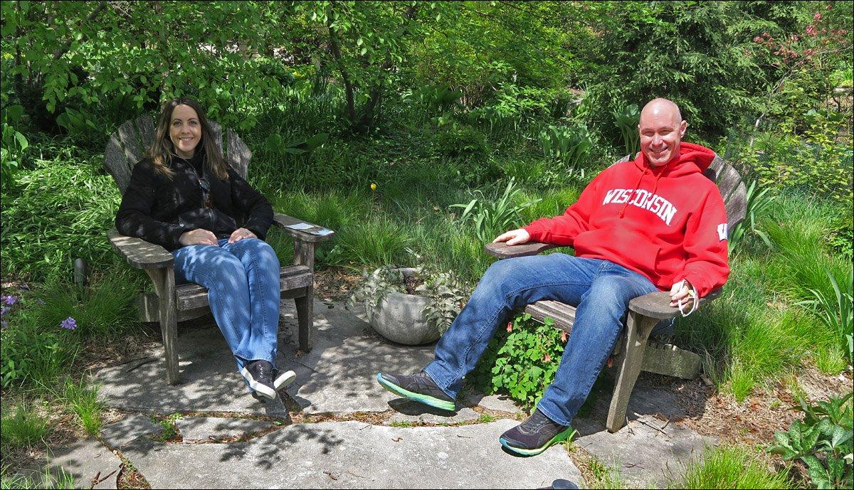 Olbrich Botanical Gardens - Julie & Brad