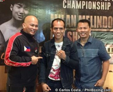 Image result for Melindo challenges Shiro for WBC belt