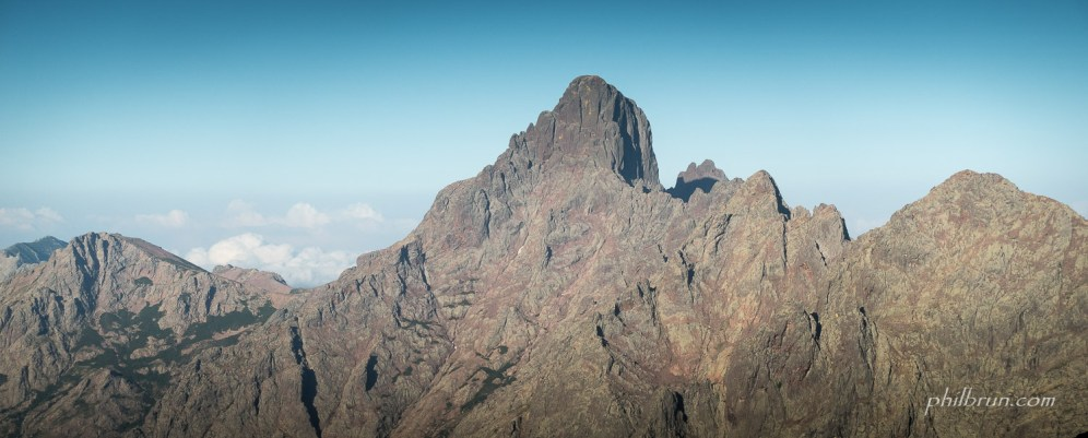 Paglia Orba vu depuis la montée au Mt Cinto