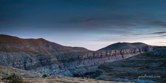 Bivouac sublime au canyon d'Ordesa