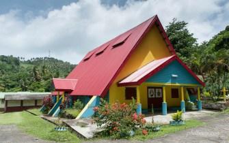 Eglise sur l'île de la Dominique