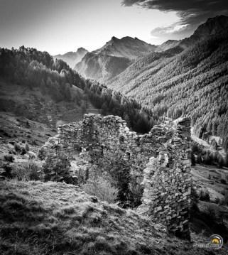Une ruine belle au départ de Ceillac