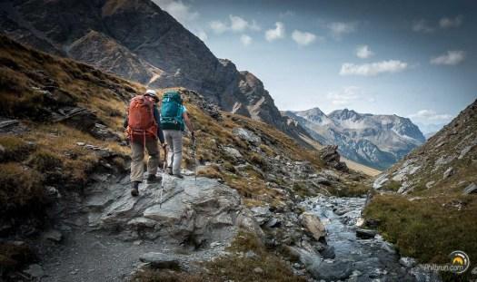 Un très joli parcours entre alpages et rivières