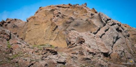 Les roches de Krýsuvík