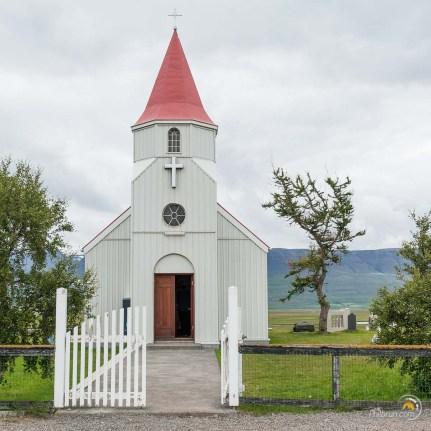 L'église de Grenjadarstadur. Invitation à entrer !