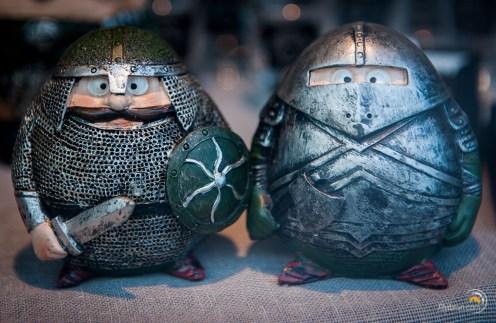 Marrantes ces statuettes de vikings !