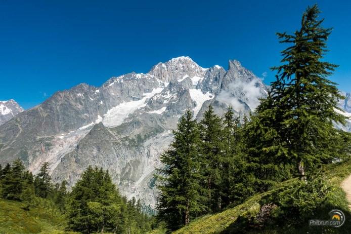 Versant Italien du Mont Blanc