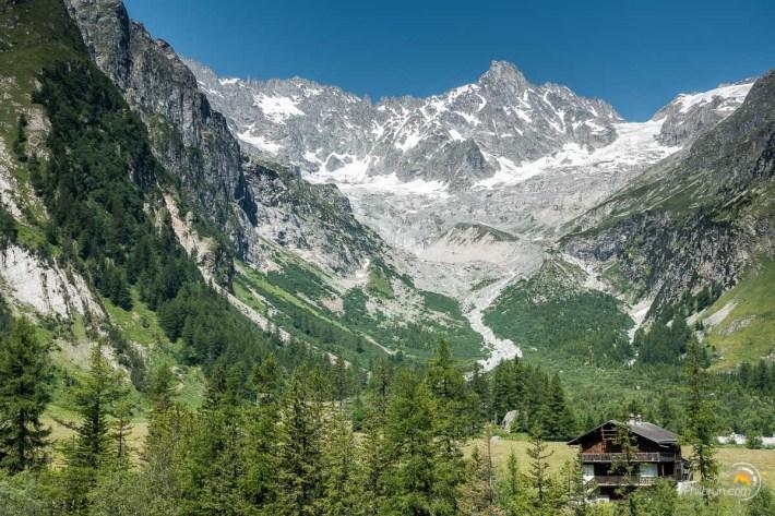 Paysage coté Suisse