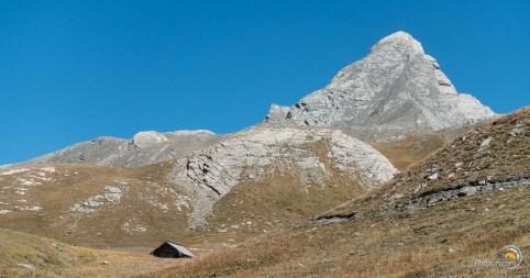 Magnifique montagne à la forme évocatrice