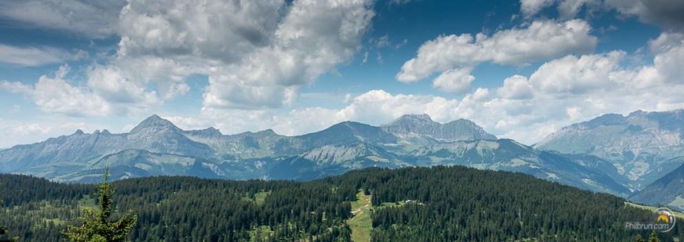 Une des premières vue sur les montagnes