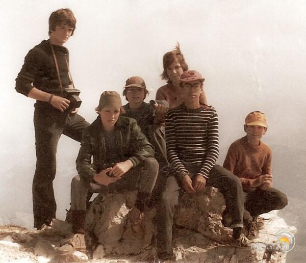Mon groupe d'ados au sommet de la Tournette