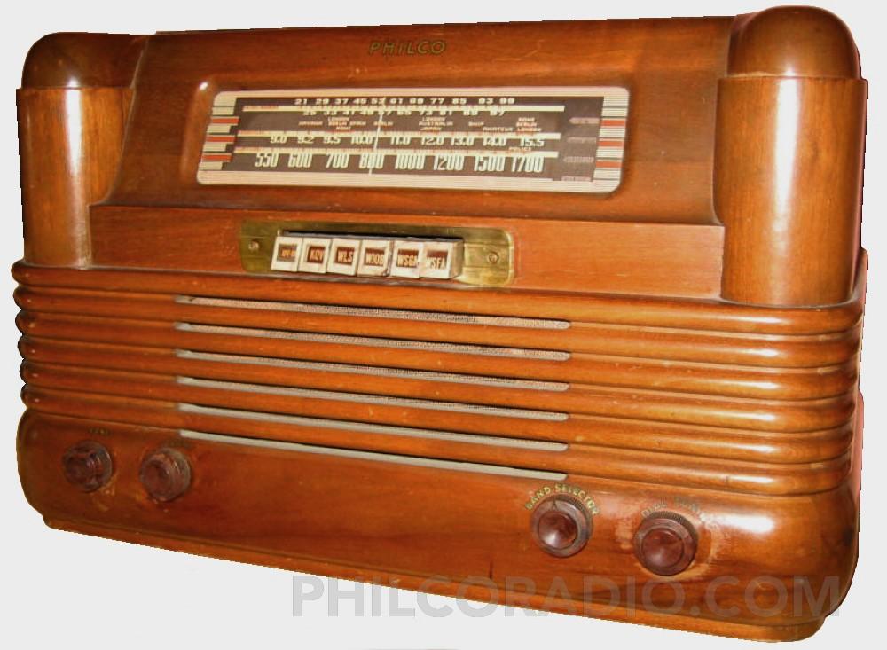 1942 Philco Radio Gallery