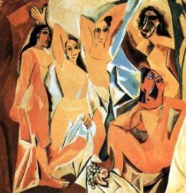 Picasso-Les Demoiselles d'Avignon