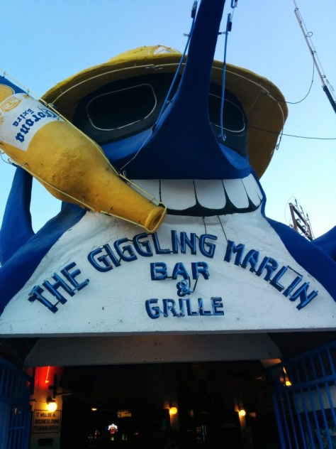 I'm of the mind there should be less giggling and more consideration for your plight from overfishing Mr. Marlin.