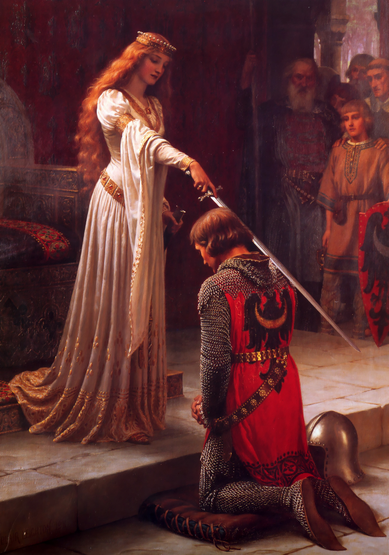 aa_Edmund_blair_leighton_accolade
