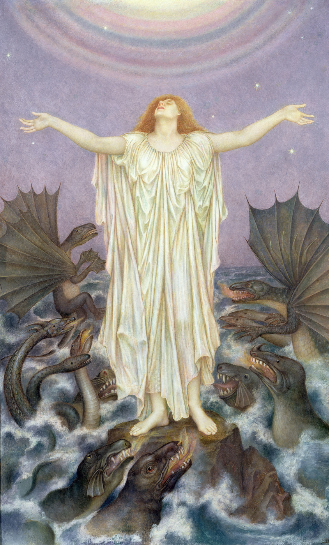 Evelyn de Morgan - el Alma