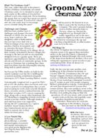 GroomNews Christmas 2009