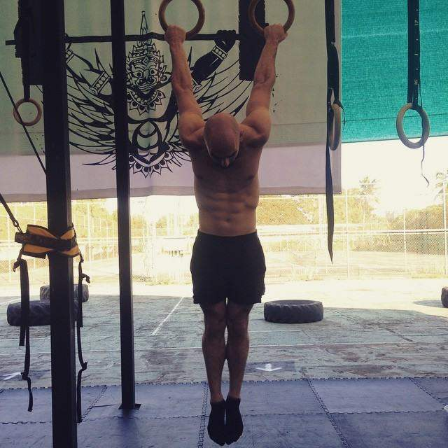 Just hanging around at Crossfit Chiang Mai