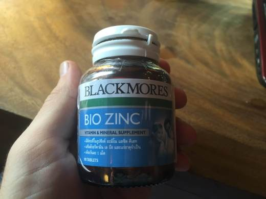 My zinc supplements