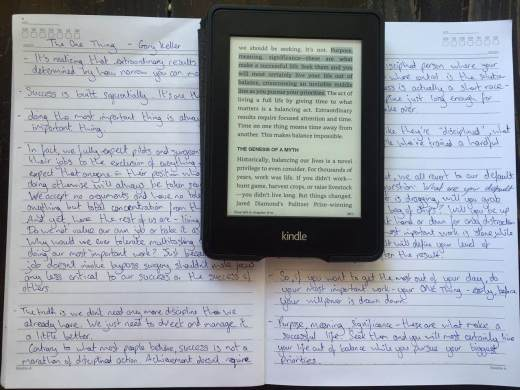 improve learning with kindle