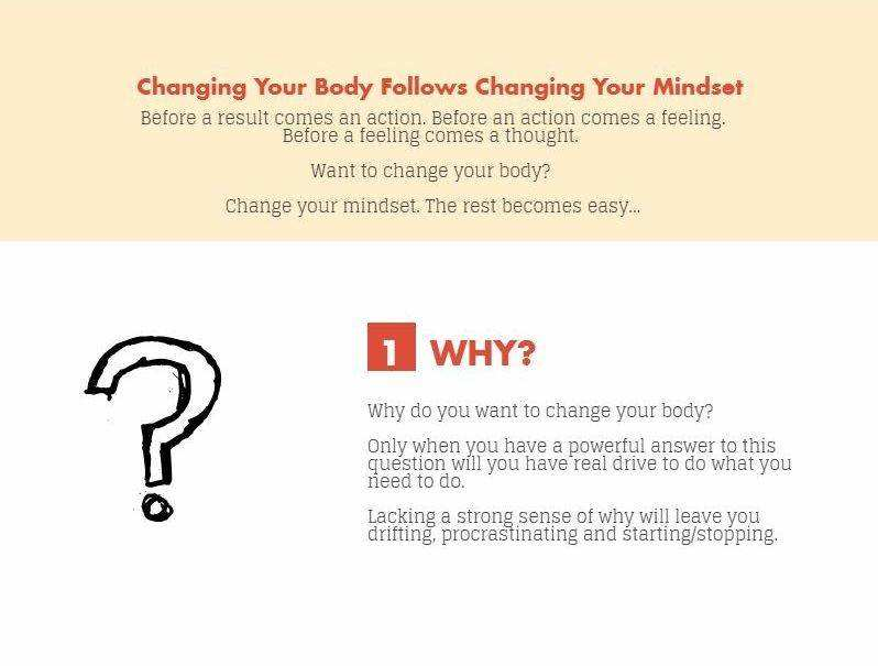 fitness mindset - why?