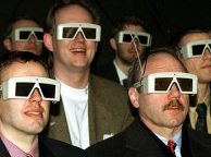 3D Glasses - sexy aren't they?