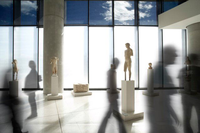Photo of the New Acropolis Museum by Giorgos Vitsaropoulos
