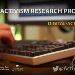 Video:  About the Digital Activism Research Project