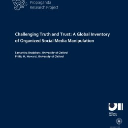 Challenging Truth and Trust: A Global Inventory of Organized Social Media Manipulation