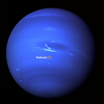 A Walmart on Uranus